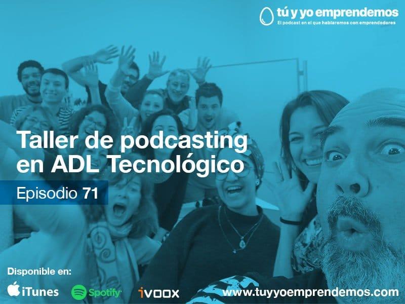 71 taller de podcasting